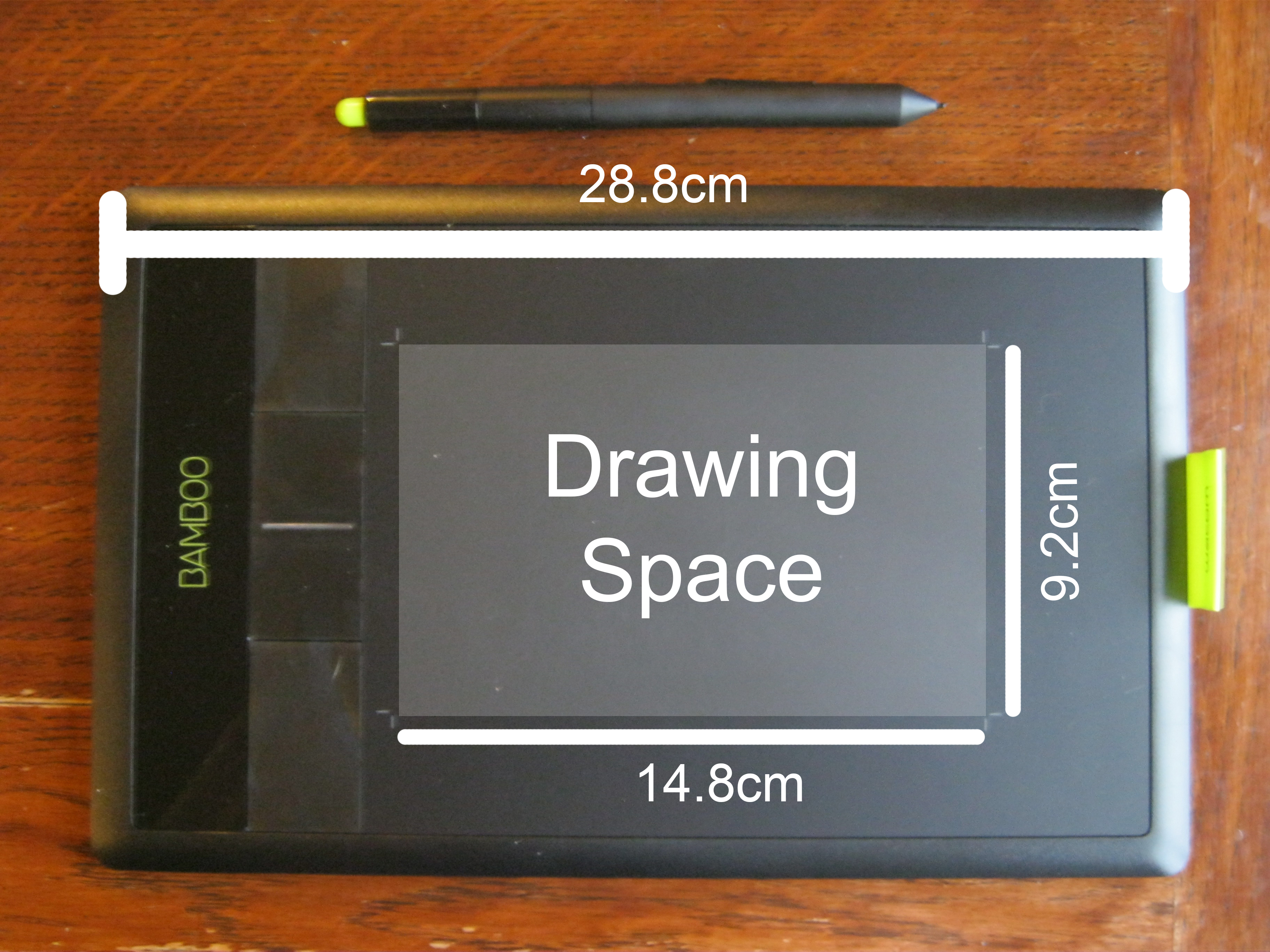 Product review for wacom bamboo pen touch graphics for Table th size