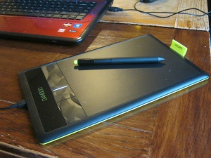 Wacom Bamboo Pen & Touch Graphics Tablet appearance