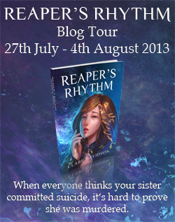 Reaper's Rhythm Blog tour
