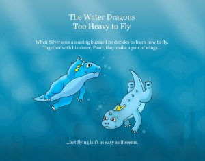 The Water Dragons: Too Heavy to Fly. Back Cover.