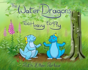 The Water Dragons: Too Heavy to Fly. Front Cover.