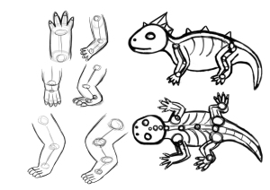 Designing the Water Dragon's Skeleton Structure